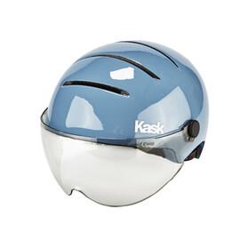 Kask Lifestyle - Casco de bicicleta - incl. Visera azul